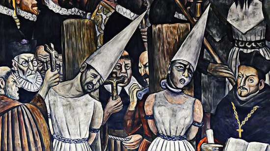 Mexican Inquisition paiting