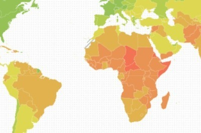 Country Index Map