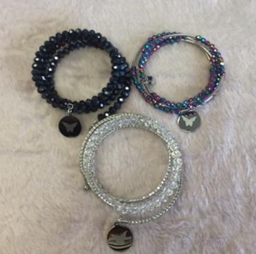 Embrace the Difference® wrap bracelets.