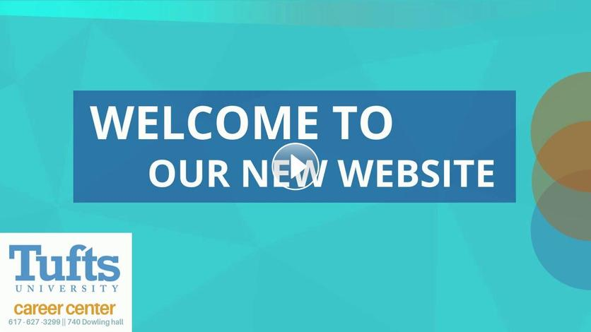 Introduction to the new Career Center website