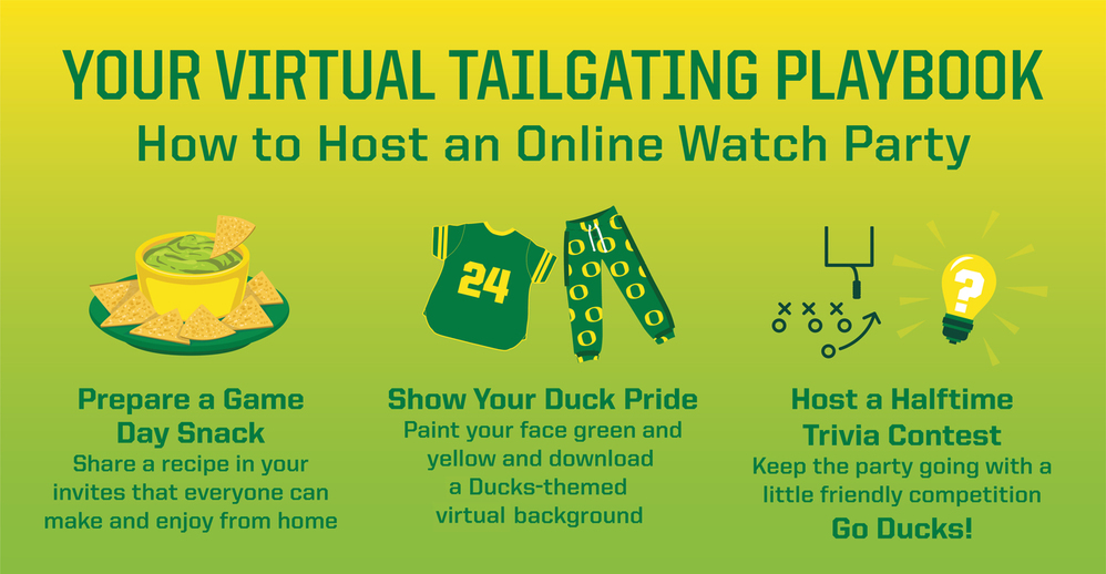 Tailgate party graphic