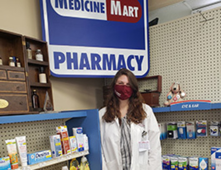 Student at Medicine Mart