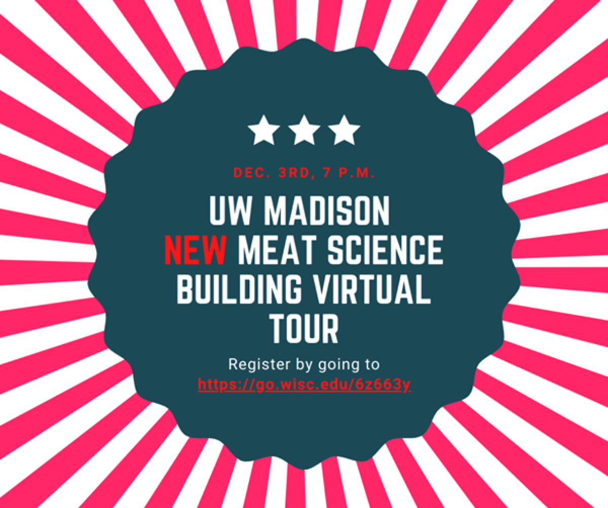 Virtual Tour of UW Madison Meat Science building