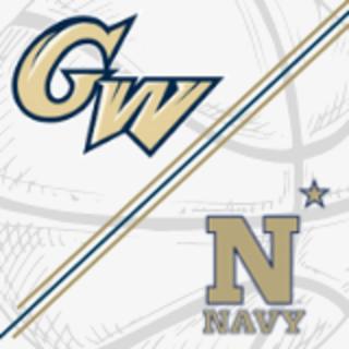 GW & Navy Logos