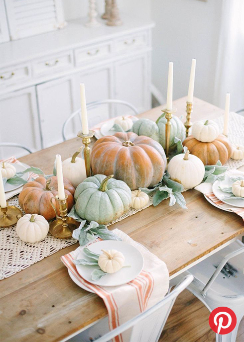 Airy falll table setting