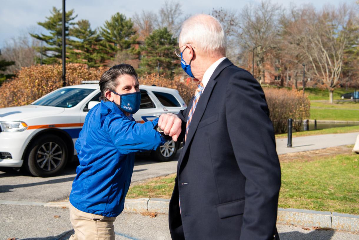 Recap of Chancellor Malatras's Nov. 20 visit to SUNY New Paltz