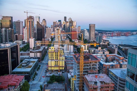 Seattle is number 6 in the nation when it comes to high density housing