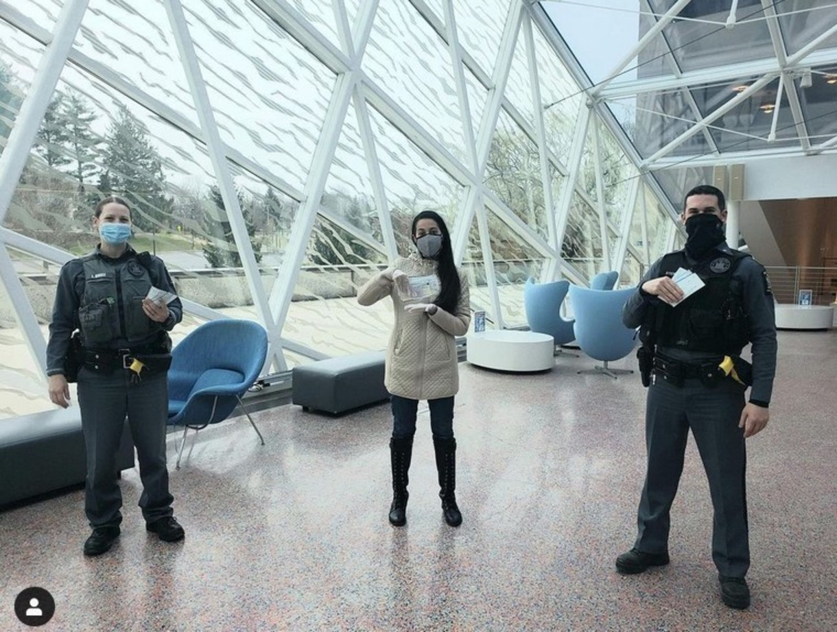 SUNY New Paltz University Police Department on Instagram