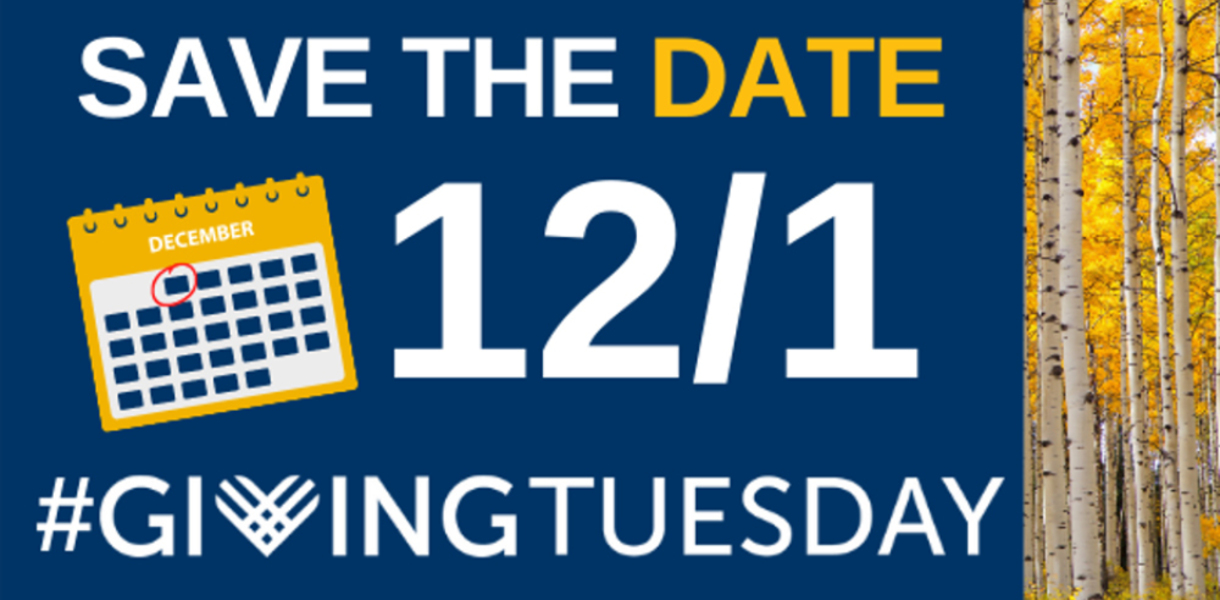 Save the Date-Giving Tuesday is Coming, December 1!