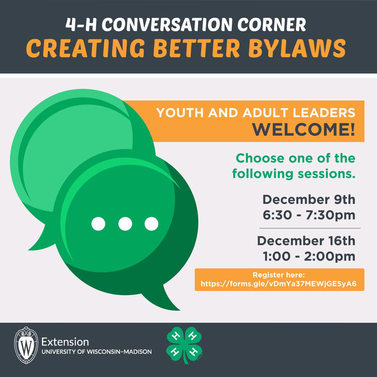 December Conversation Corner
