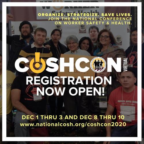 Register for COSH CON 2020