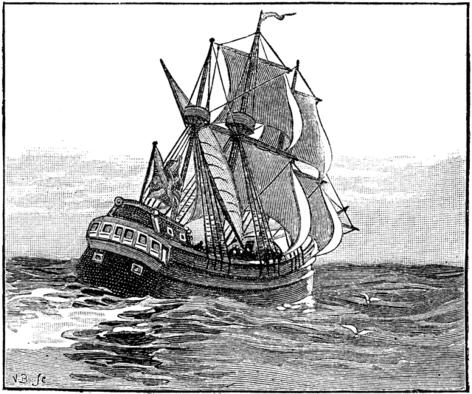 Photo of the Mayflower