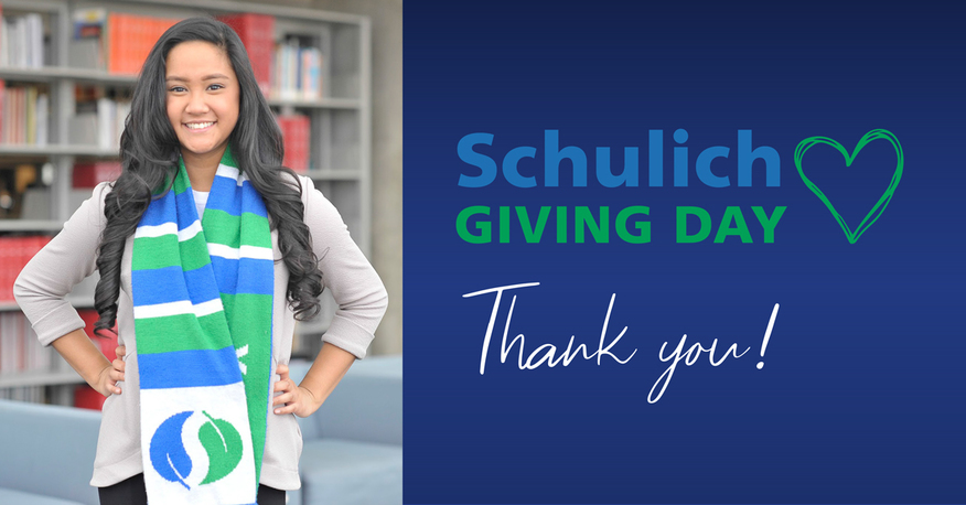 Schulich Giving Day, Thank You!