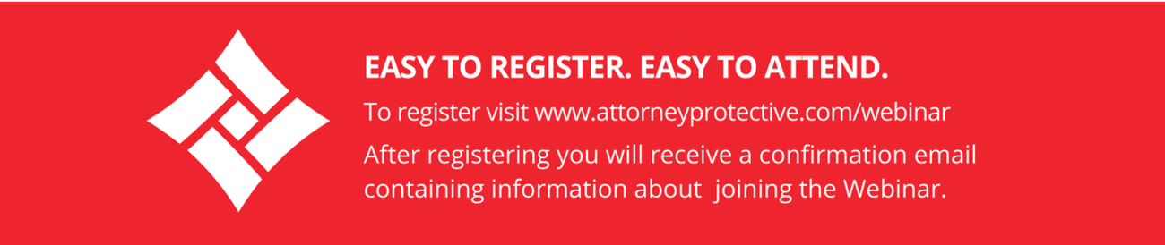 Easy to Register.  Easy to Attend