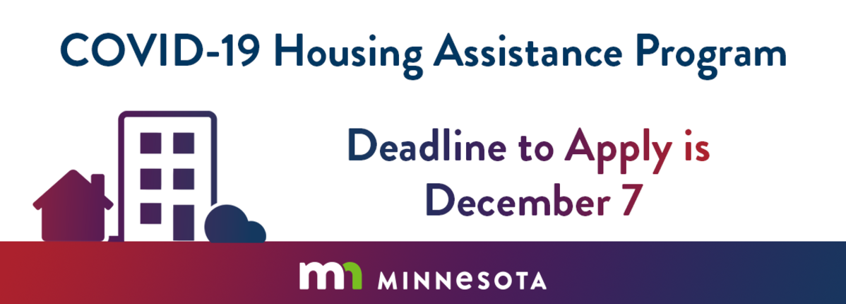 Apply by December 7 for houing assistance