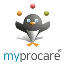 myprocare icon with penguin