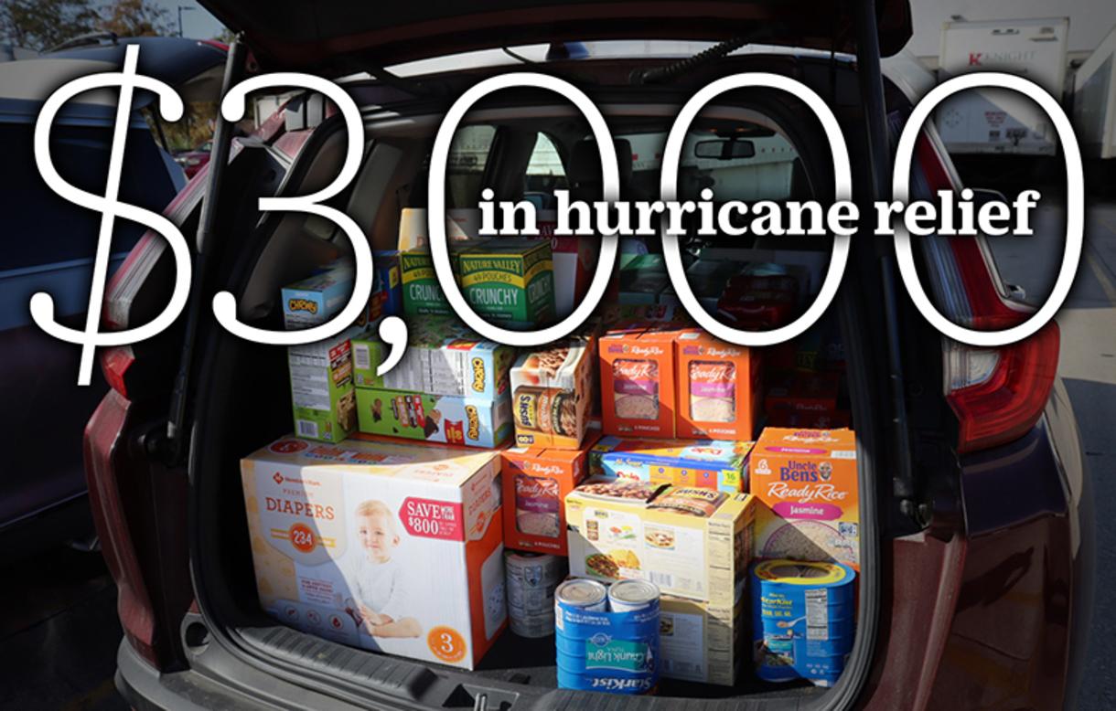 Hurricane Donations