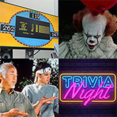 """collection of photos from STATIC events including Family Feud, movies """"It"""" and """"Karate Kid,"""" and Trivia Night"""