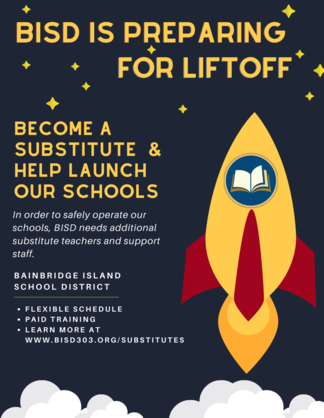 become a substitute