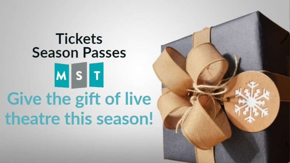 Give the Gift of live theatre this season!