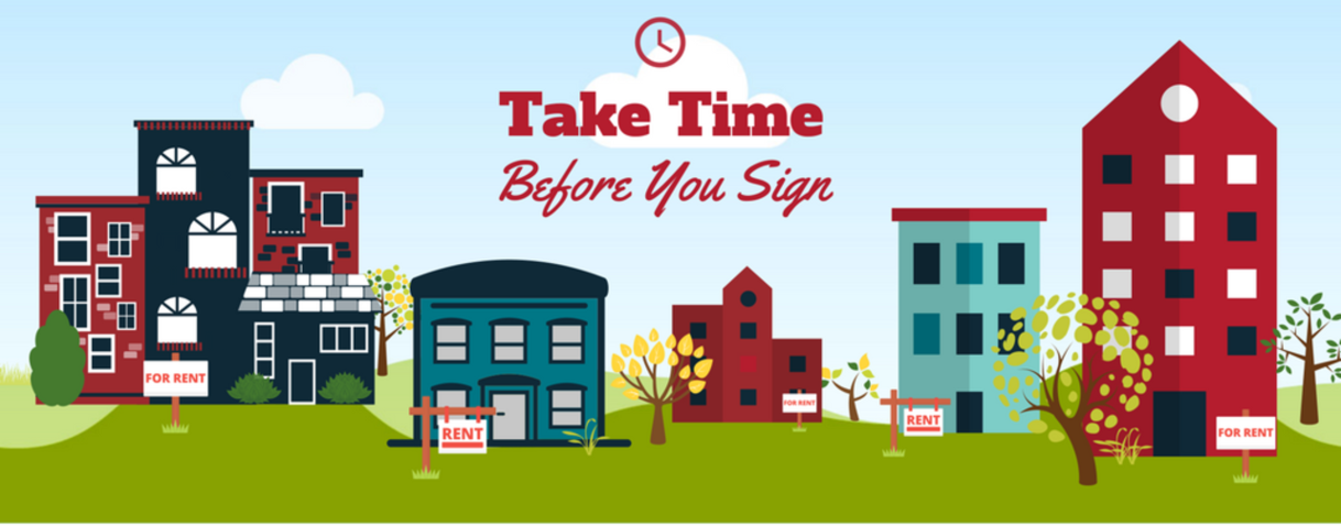 Take Time Before You Sign a Lease