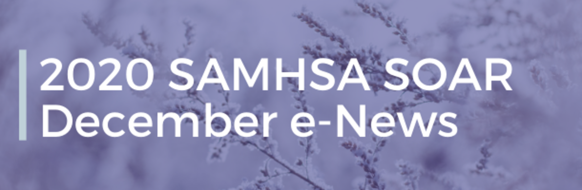 2020 SAMHSA SOAR December e-News