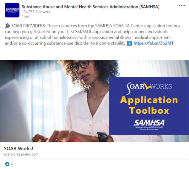 SOAR LinkedIn Post: Application Toolbox