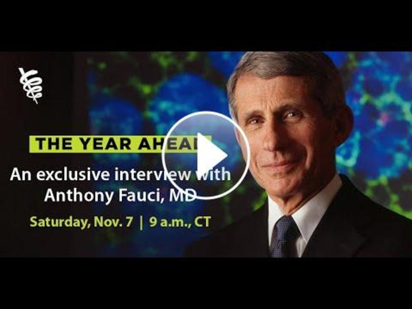 AMA Exclusive Interview With Dr. Fauci