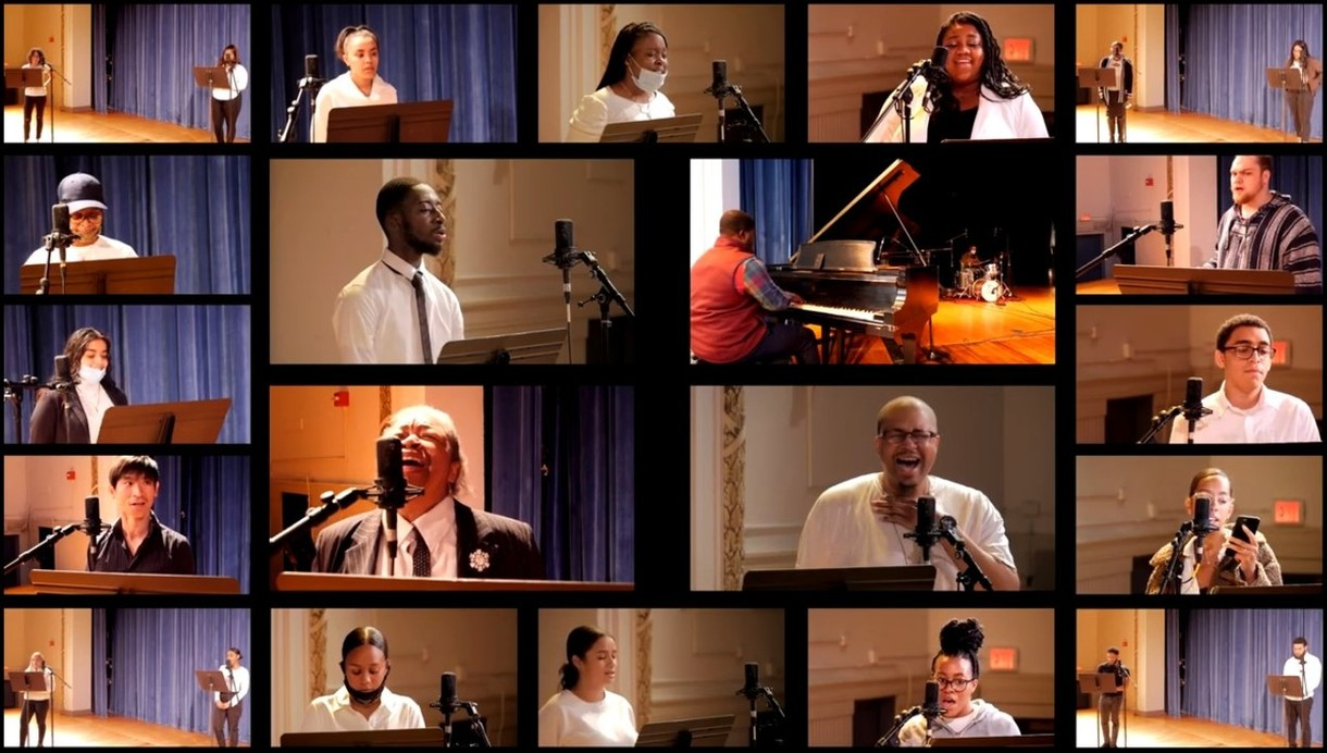 New Paltz News: Watch the Voices of Unity Gospel Choir in a special Music/Black Studies collaboration