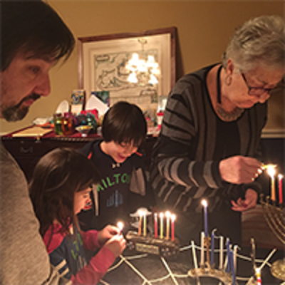 Delightful Chanukah Celebrations at a Distance