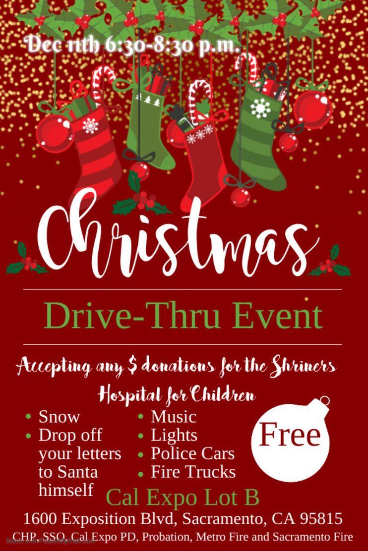 Christmas Drive Thru Event