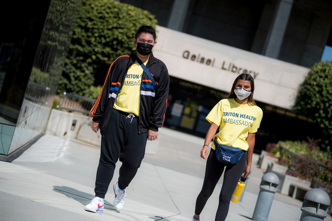 Triton Health Ambassadors at UC San Diego