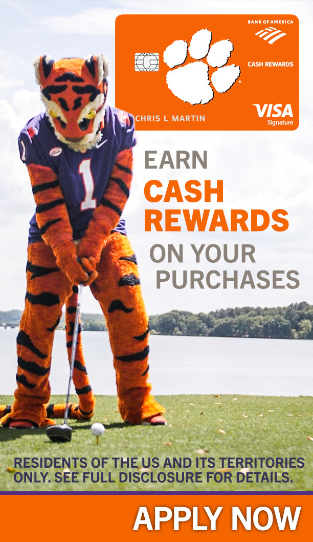 Bank of America Cash Rewards VISA. Earn Cash Rewards on Your Purchases Residents of the US and its territories only. See full disclosure for details. Apply Now.