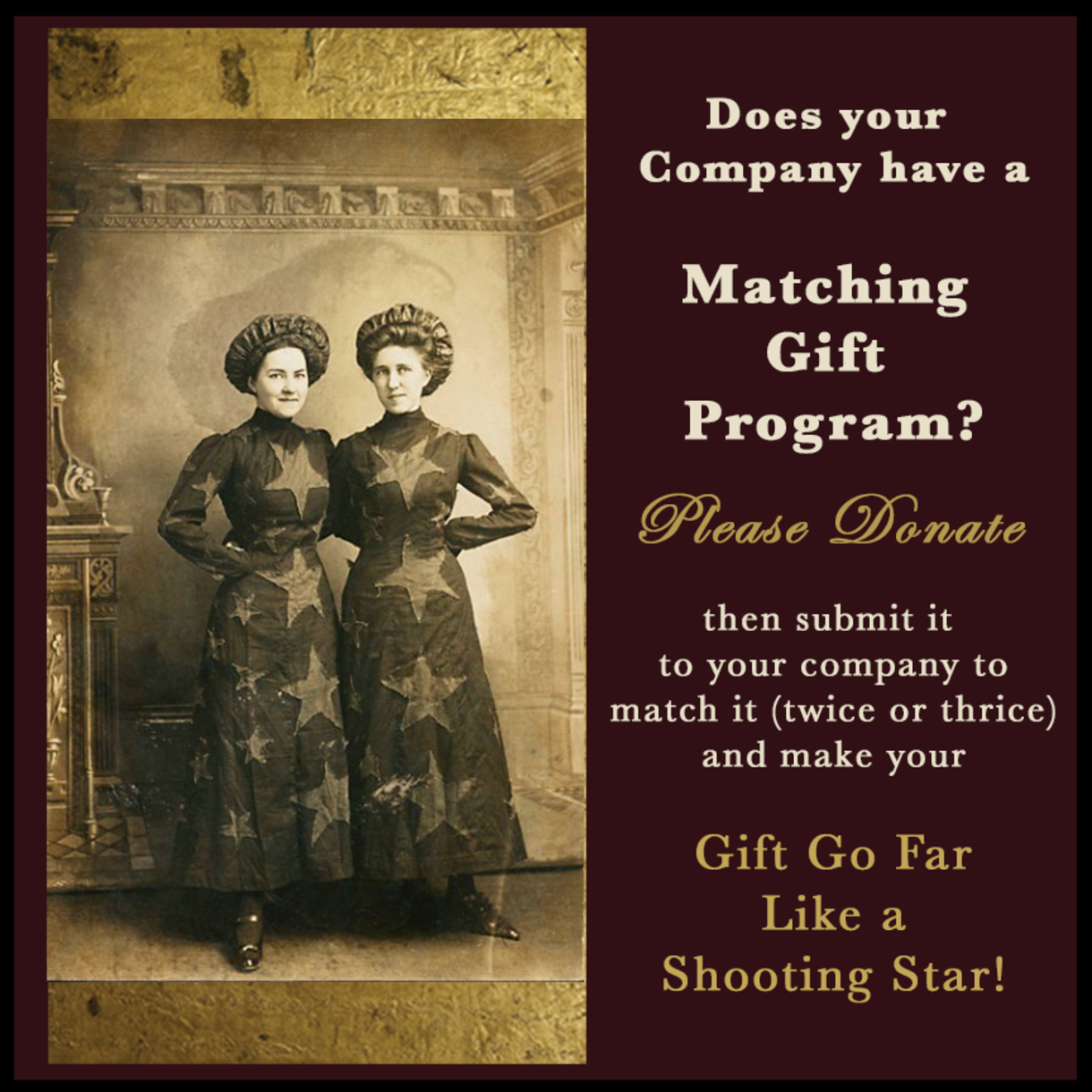 Company Matching Gift Program