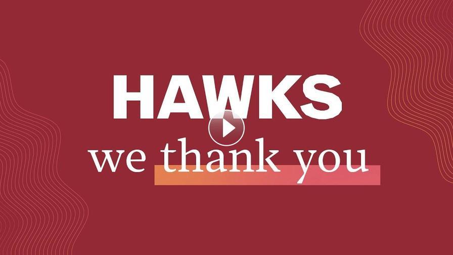Hawks, we thank you.