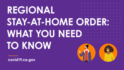 Regional Stay-at-Home Order: What You Need to Know