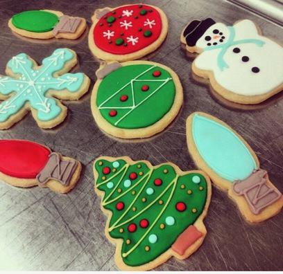 Photo of shortbread Christmas cookies