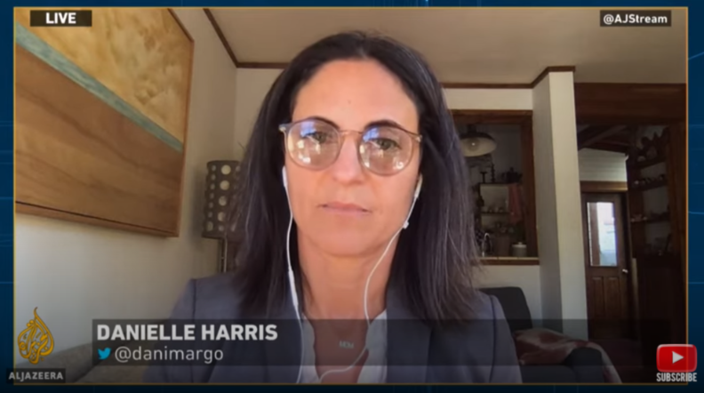 Danielle Harris appeared on Al Jazeera to discuss the dire need for releases from California prisons.