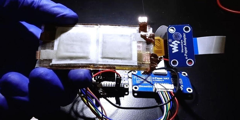 Flexible battery