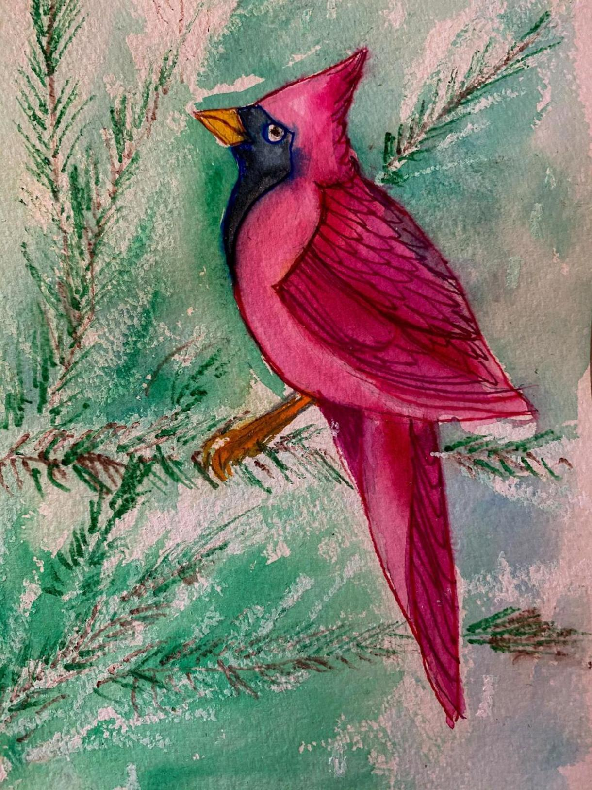 Sunday Studio: Winter Birds