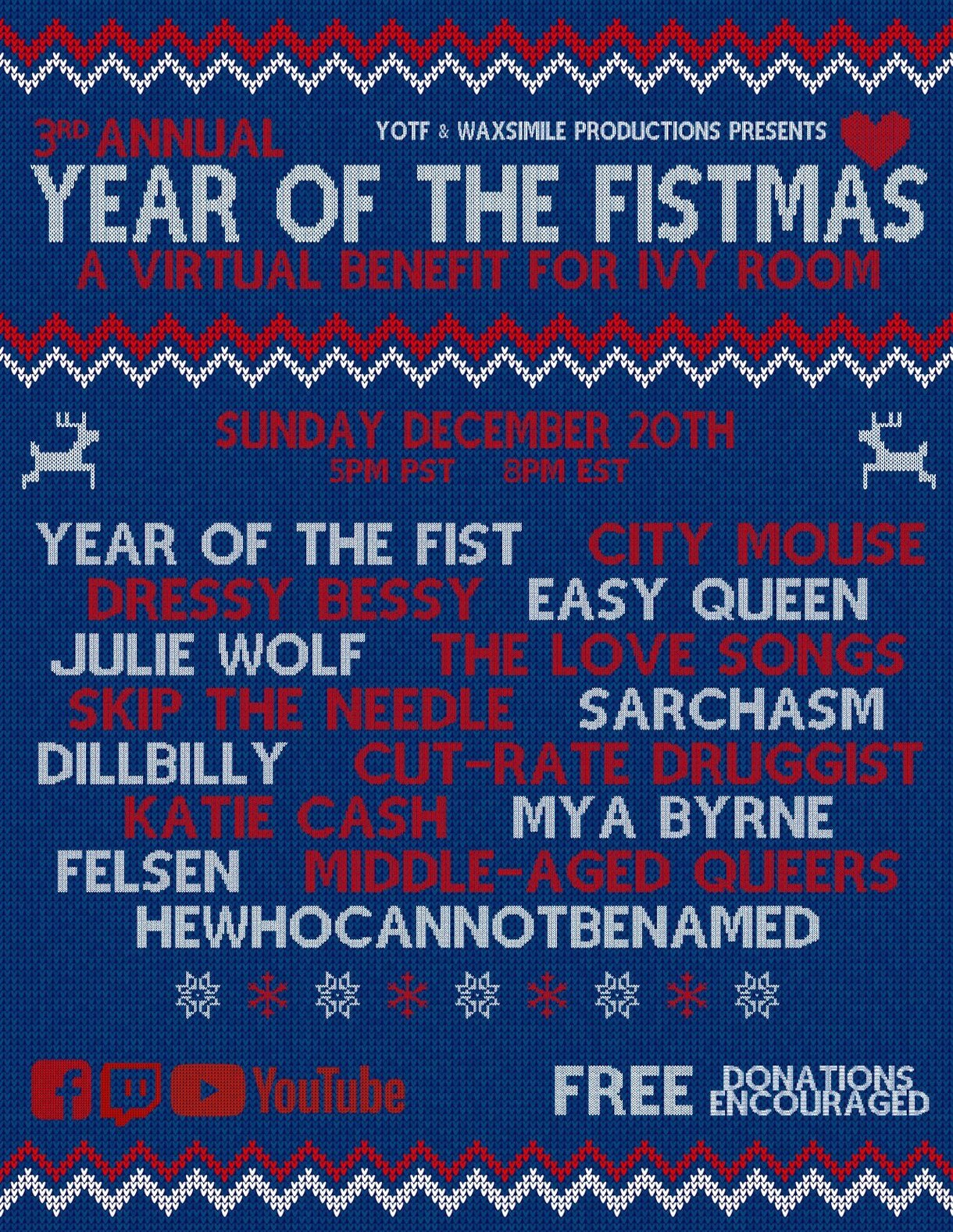 Year of the Fistmas