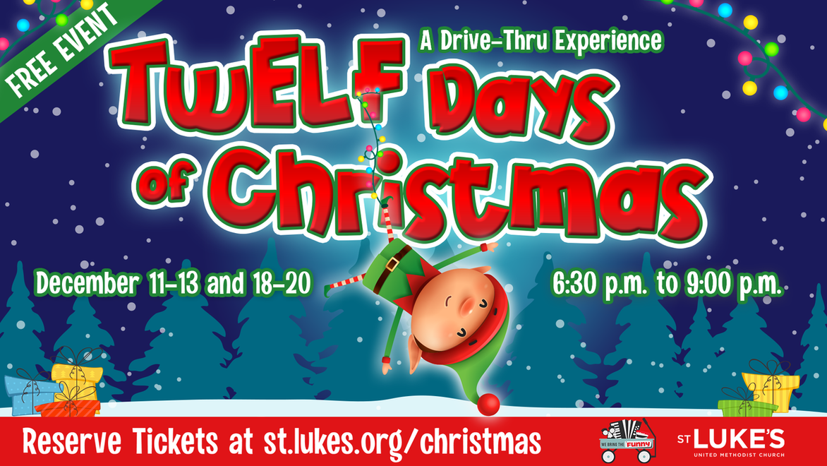 TwELF days of christmas event webpage link