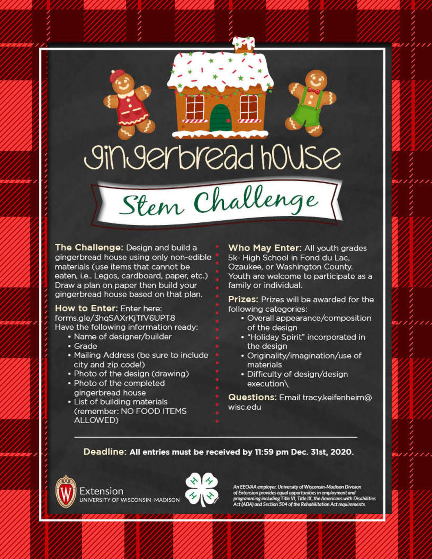 Gingerbread STEM contest