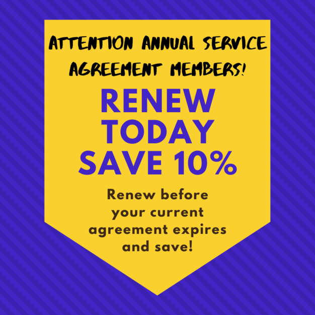 Annual Service Agreement