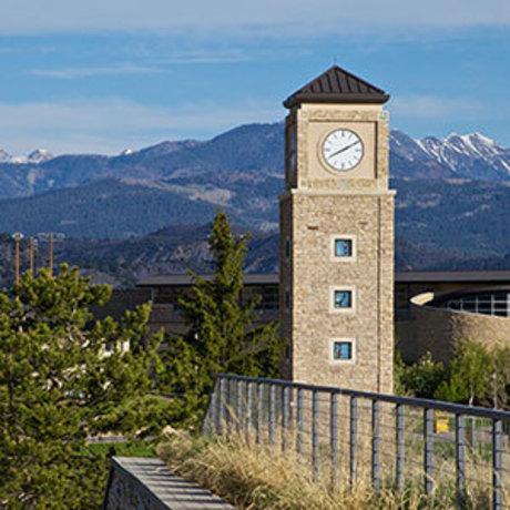 Clocktower on FLC campus
