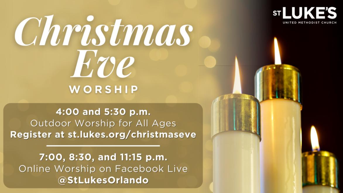 Christmas eve event webpage link