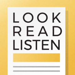 Look//Read//Listen