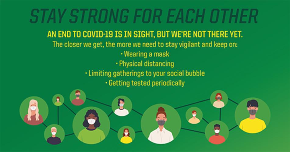 Social bubble graphic