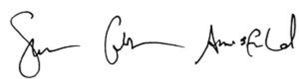 SCA and Andu Offit signatures