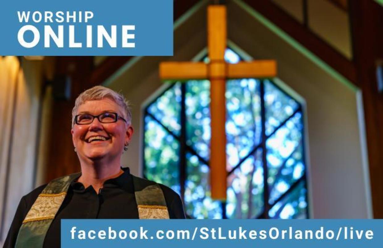 Worship Oneline @ facebook stlukesorlando/live